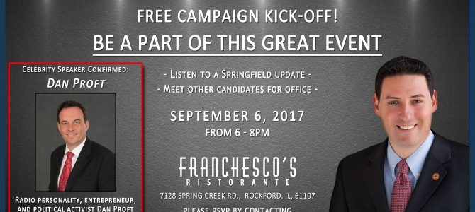 Cabello Campaign Kick-off – September 6th 2017