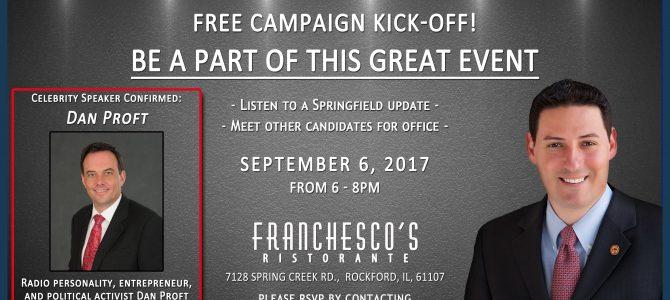 Cabello Campaign Kick-off – September 6th 2017